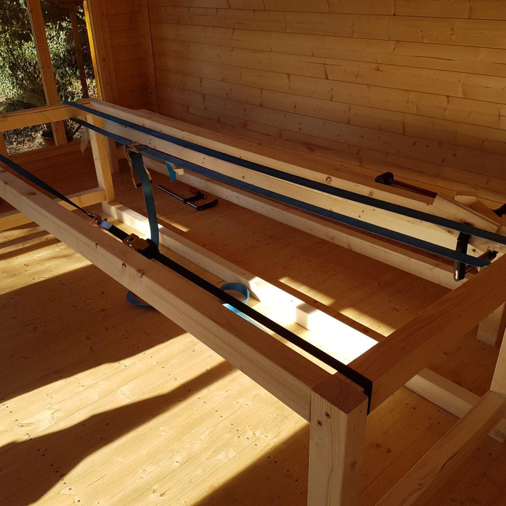 Unterkonstruktion Tisch